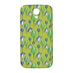 Tropical Floral Pattern Samsung Galaxy S4 I9500/I9505  Hardshell Back Case Front