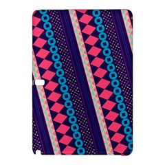 Purple And Pink Retro Geometric Pattern Samsung Galaxy Tab Pro 12 2 Hardshell Case