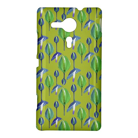 Tropical Floral Pattern Sony Xperia SP