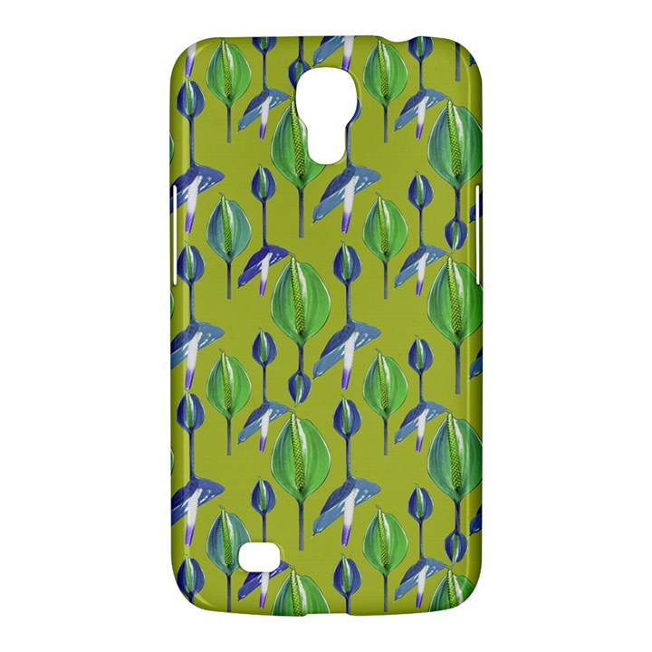 Tropical Floral Pattern Samsung Galaxy Mega 6.3  I9200 Hardshell Case