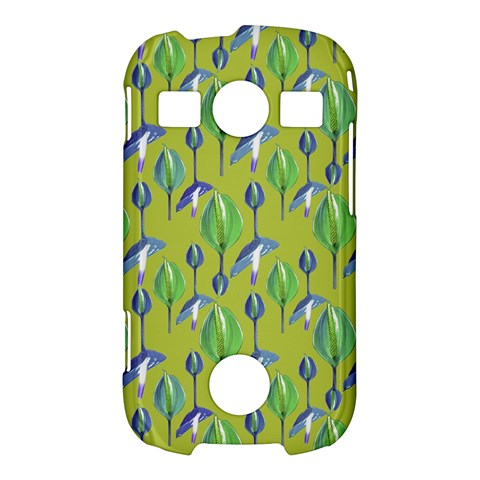 Tropical Floral Pattern Samsung Galaxy S7710 Xcover 2 Hardshell Case