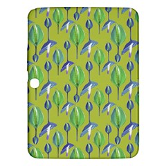 Tropical Floral Pattern Samsung Galaxy Tab 3 (10 1 ) P5200 Hardshell Case