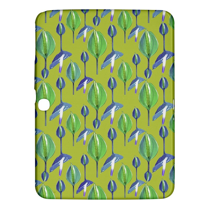 Tropical Floral Pattern Samsung Galaxy Tab 3 (10.1 ) P5200 Hardshell Case