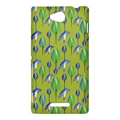 Tropical Floral Pattern Sony Xperia C (S39H)