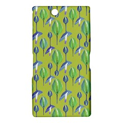 Tropical Floral Pattern Sony Xperia Z Ultra