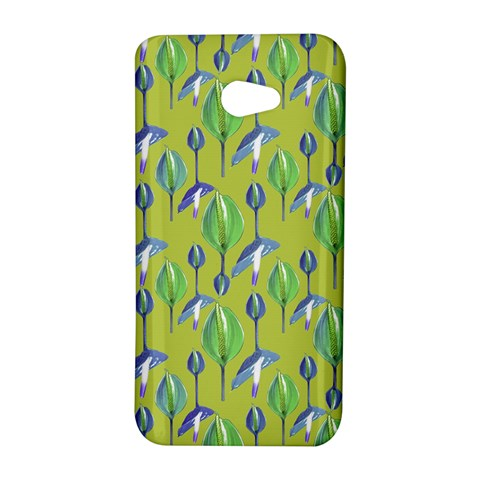 Tropical Floral Pattern HTC Butterfly S/HTC 9060 Hardshell Case