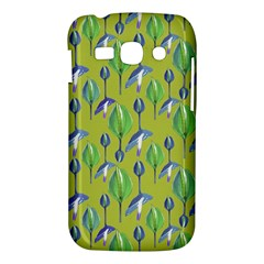 Tropical Floral Pattern Samsung Galaxy Ace 3 S7272 Hardshell Case