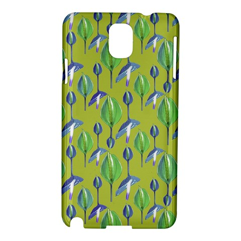 Tropical Floral Pattern Samsung Galaxy Note 3 N9005 Hardshell Case