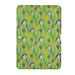 Tropical Floral Pattern Samsung Galaxy Tab 2 (10 1 ) P5100 Hardshell Case