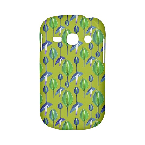 Tropical Floral Pattern Samsung Galaxy S6810 Hardshell Case