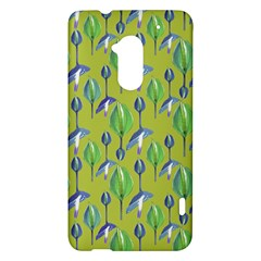 Tropical Floral Pattern HTC One Max (T6) Hardshell Case