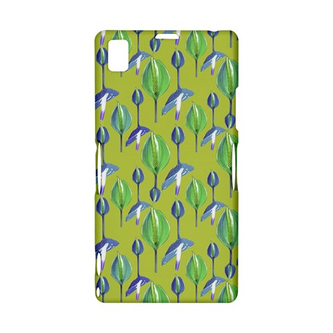 Tropical Floral Pattern Sony Xperia Z1