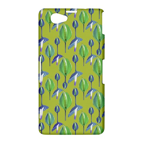 Tropical Floral Pattern Sony Xperia Z1 Compact