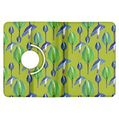 Tropical Floral Pattern Kindle Fire HDX Flip 360 Case
