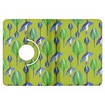 Tropical Floral Pattern Kindle Fire HDX Flip 360 Case Front