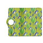 Tropical Floral Pattern Kindle Fire HDX 8.9  Flip 360 Case Front