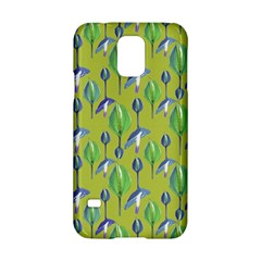 Tropical Floral Pattern Samsung Galaxy S5 Hardshell Case
