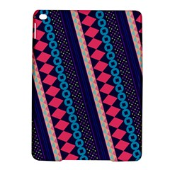 Purple And Pink Retro Geometric Pattern Ipad Air 2 Hardshell Cases
