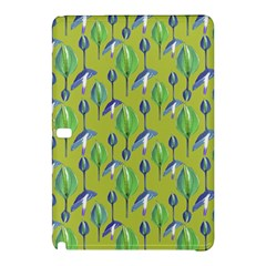 Tropical Floral Pattern Samsung Galaxy Tab Pro 10 1 Hardshell Case