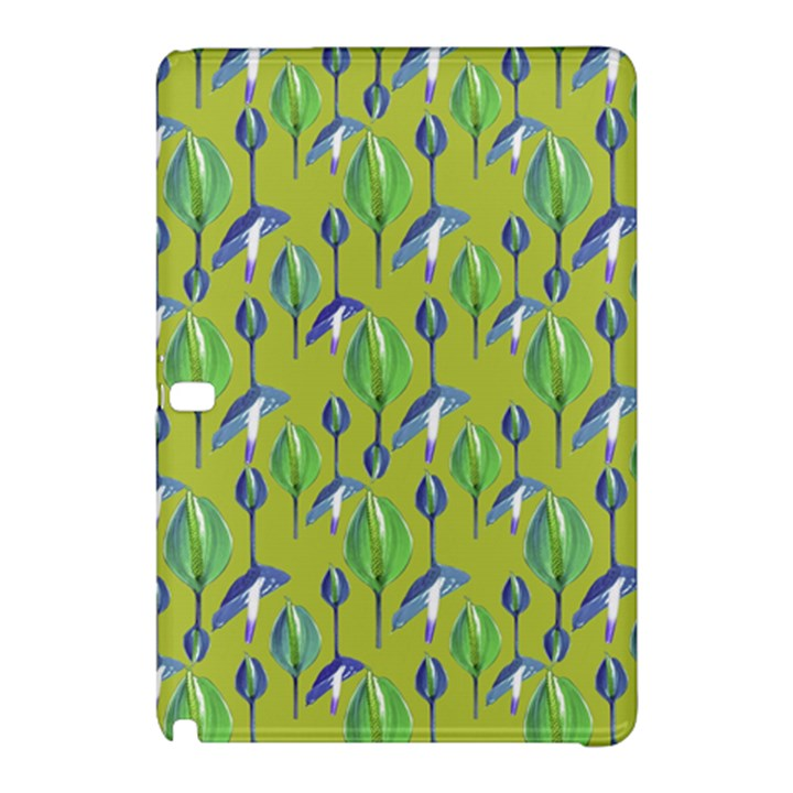 Tropical Floral Pattern Samsung Galaxy Tab Pro 10.1 Hardshell Case