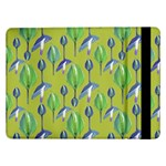 Tropical Floral Pattern Samsung Galaxy Tab Pro 12.2  Flip Case Front