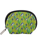 Tropical Floral Pattern Accessory Pouches (Small)  Front