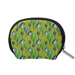 Tropical Floral Pattern Accessory Pouches (Small)  Back