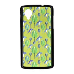 Tropical Floral Pattern Nexus 5 Case (Black)