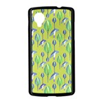 Tropical Floral Pattern Nexus 5 Case (Black) Front