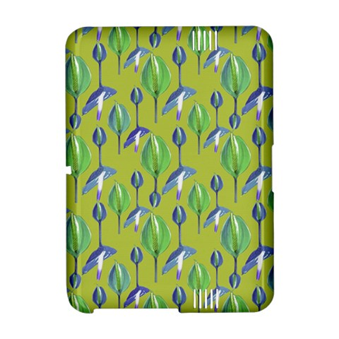Tropical Floral Pattern Amazon Kindle Fire (2012) Hardshell Case