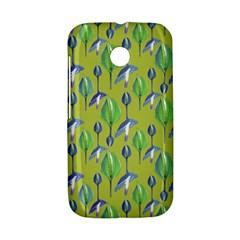 Tropical Floral Pattern Motorola Moto E
