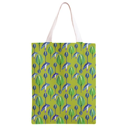 Tropical Floral Pattern Classic Light Tote Bag