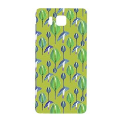 Tropical Floral Pattern Samsung Galaxy Alpha Hardshell Back Case