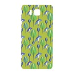 Tropical Floral Pattern Samsung Galaxy Alpha Hardshell Back Case Front