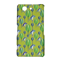 Tropical Floral Pattern Sony Xperia Z3 Compact