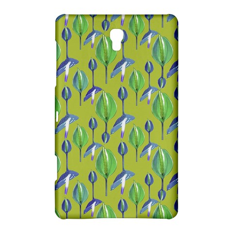 Tropical Floral Pattern Samsung Galaxy Tab S (8.4 ) Hardshell Case