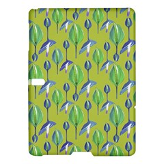 Tropical Floral Pattern Samsung Galaxy Tab S (10.5 ) Hardshell Case