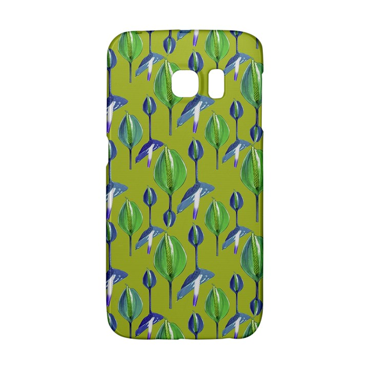 Tropical Floral Pattern Galaxy S6 Edge