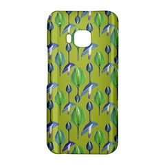 Tropical Floral Pattern HTC One M9 Hardshell Case