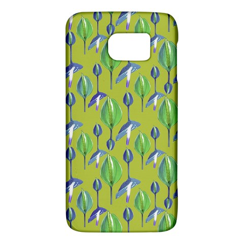 Tropical Floral Pattern Galaxy S6