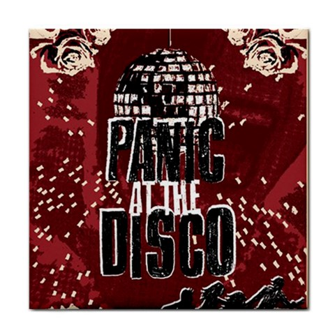 Panic At The Disco Poster Tile Coasters