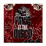Panic At The Disco Poster Tile Coasters Front
