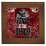 Panic At The Disco Poster Framed Tiles Front