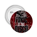 Panic At The Disco Poster 2.25  Buttons Front