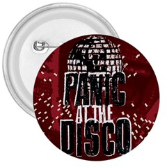 Panic At The Disco Poster 3  Buttons