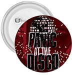 Panic At The Disco Poster 3  Buttons Front