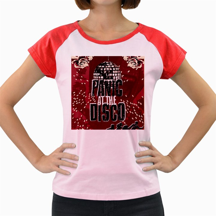 Panic At The Disco Poster Women s Cap Sleeve T-Shirt