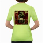 Panic At The Disco Poster Women s Green T-Shirt Back
