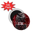 Panic At The Disco Poster 1.75  Magnets (100 pack)  Front