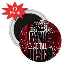 Panic At The Disco Poster 2 25  Magnets (10 Pack)